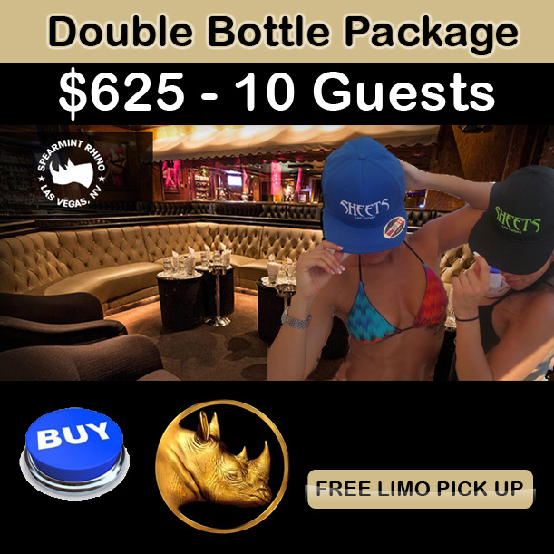 Spearmint Rhino Bottle Service Deals