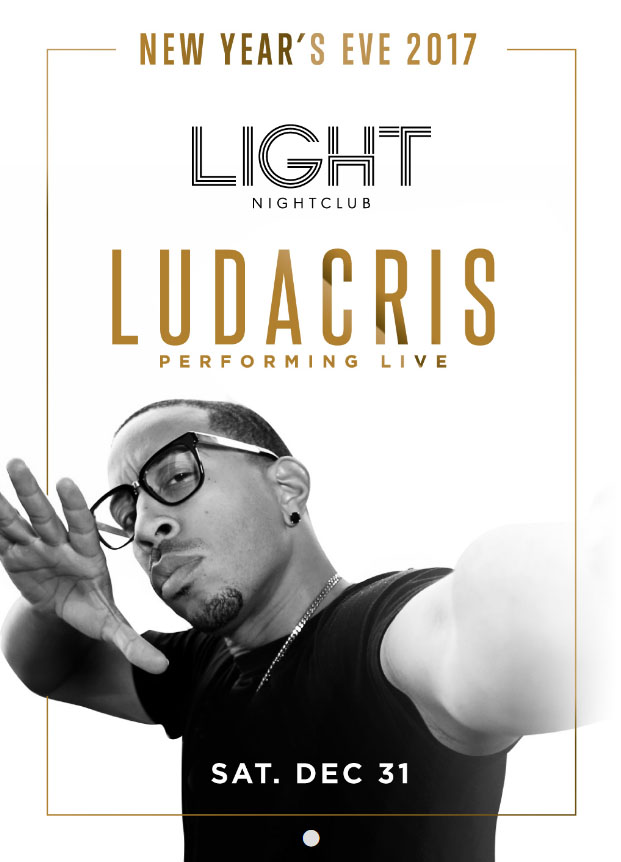 Light Nightclub New Years Eve LUDACRIS