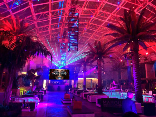 Marquee Nightclub Dome