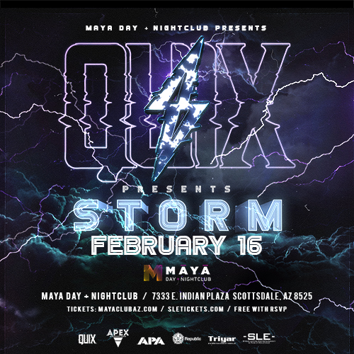 Quix Maya Nightclub February 16th