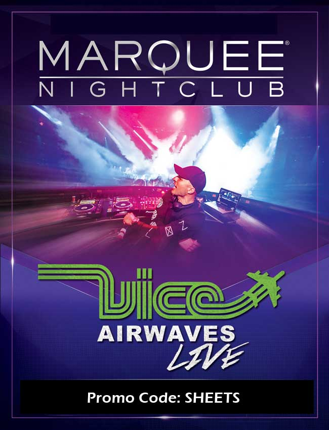 Marquee Nightclub Tables and Tickets