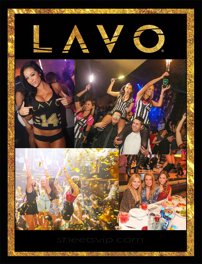 Lavo Saturday's Brunch