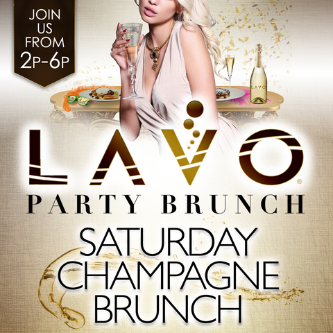 Lavo Brunch Bunny Bowl