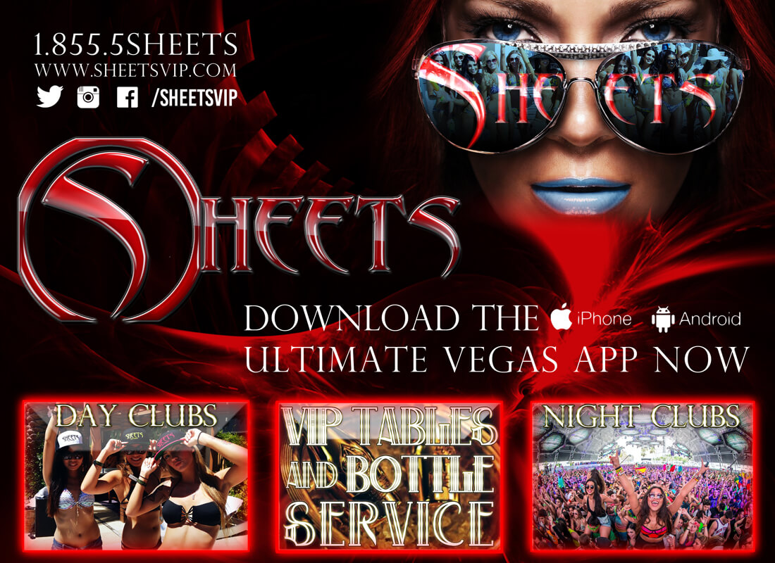 SHEETS VIP Nightclub and Dayclub reservations